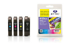Jet Tec Remanufactured Inks to Replace Brother LC123VALBP Multi Pack BK/C/M/Y