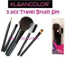 5 PC KleanColor TRAVEL SET Brush for Concealer LIP EYEBROW eyeshadow Blush CB753