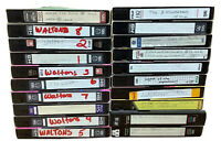 Lot Of 20 Pre-recorded VHS Blank Tapes Videos TV Shows & Movies The Waltons
