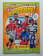 Futebol 2018-2019 - Panini Sticker Album - Portugal - Empty