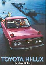 1970 Toyota Hi Lux Pickup Sales Brochure mw5791-SS5FVS