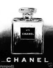 Advertising Poster/Print - Chanel Perfume -  Black and White - 17x22