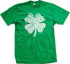 Shamrock Clover Irish Lucky Charm Saint St Patricks Day Ireland Mens T-shirt