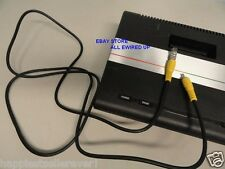 ATARI 7800 TV RF Cable Connector Switch Box with Video Cable Game System