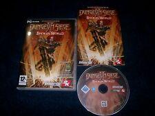 DUNGEON SIEGE II 2 BROKEN WORLD EXPANSION PACK PC-CD V.G.C. FAST POST COMPLETE