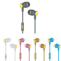 Universal 3.5mm In-Ear Stereo Earbuds Earphone Headset Headphone & Microphone