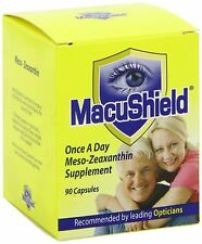 Macushield Capsules Eye Health Supplement Lutein Zeaxanthin Macula Pack of 90