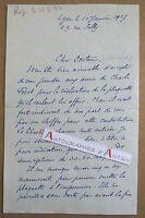 L.A.S 1927 Philippe BURNOT Graveur Lantignié Château Thulon LYON Policard Forot