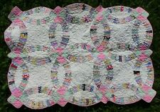 """Antique Doll Bed Quilt 23"""" x 33"""""""