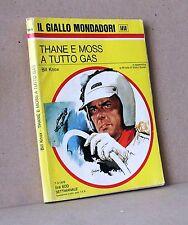 Thane e Moss a tutto gas - Knox - il giallo mondadori 1414 . 7-3-1976
