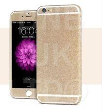Champagne Full Body Diamond Bling Glitter Sticker Skin Cover For Iphone 6 & 6S