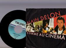 Alain DELON...si...COMME AU CINEMA