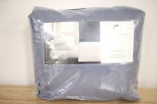 Hotel Collection QUEEN Sheet Set 525 TC Cotton SEA BLUE A02035
