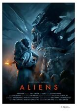 Aliens James Cameron Alternative Movie Poster by Brian Taylor NT Mondo