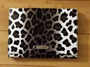 *NWT* MARC JACOBS All In One in Natural Leopard Print Clutch Handbag Purse $1075