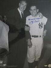 YOGI BERRA & JOE DIMAGGIO N.Y. YANKEES YOGI SIGNED ME AND THE CLIPPER  {STEINER}