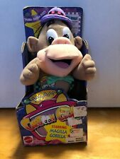 "1993 Cartoon Club Hanna-Barbera Magilla Gorilla 9.5"" Plush Mattel NEW Vintage"