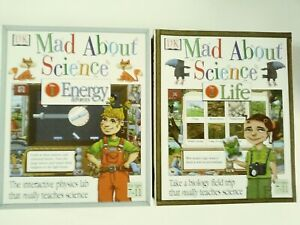 DORLING KINDERSLEY MAD ABOUT SCIENCE: 1 ENERGY & FORCES, 2 LIFE BIG BOX CD-ROMs