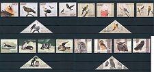 Fauna Birds Owls Parrots Penguins Congo 20 MNH stamps set