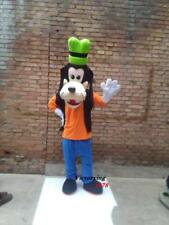 Halloween Deluxe Goofy Dog Mascot Costume suits Unisex Costume Birthday party