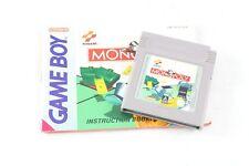 Nintendo Gameboy Game Boy monopole Cartouche & Instructions PAL UK