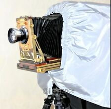 Dark Cloth Focusing Hood Silver Black Color 4x5 5x7 Large Format Camera 130cm