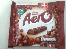 Confezione di 4 barre di cioccolato al latte Aero-Cioccolato Inglese-spedizione in tutto il mondo