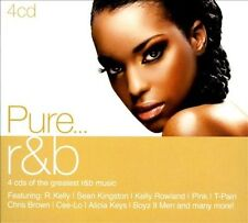 Pure... R&B [Digipak] by Various Artists (CD, Jun-2011, 4 Discs, Sony Music)