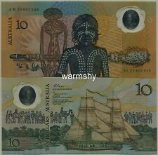 Australia 1988 Polymer Immigration 200t Commemorative Banknote 10 Dollars UNC AB
