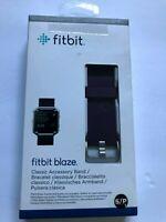 NEW Original Fitbit Blaze Accessory Genuine Replacement Classic Band Small Plum