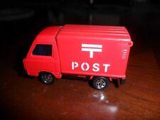 TOMICA Tomy #31 SUBARU SAMBAR  Red 1/52 Post Truck Nm to Mint C-9.5  Japan