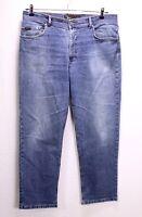 GJ21-87 Brax Carlos Herren Jeans blau W36 L32 Stretch straight leg regular