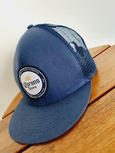 Corona Extra Blue Snapback Cap Hat Snap Back Adult One Size blue white
