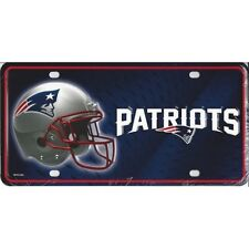 Patriots License Plate Engraved New Boston Personalized Custom Wall