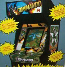Commando Arcade FLYER Original Data East Video Game Artwork Retro Gaming Combat