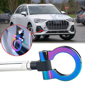 NEO JDM Front Rear Aluminum Sporty Track Tow Hook For Audi A4 A5 S4 S5 RS5 A7 A3