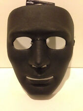 Adult Drama Masks - Male - Lot of 6 - All Masks are Black