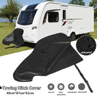 Waterproof Caravan Hitch Cover PVC Trailer Tow Ball Coupling Lock Breathable