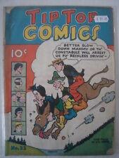 TIP TOP COMICS #22 G (2.0) GOLDEN AGE COMIC TAPE REPAIR