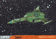 UFO Sketch Trading Card SK1 By David Day (A)