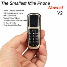 Unlocked 2017 Original Long-CZ V2 Bluetooth Dialer Mini Magic Voice Mobile Phone