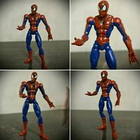 Spider-Man Poseable Action Figure Super Poseable 2003 Toy Biz Marvel