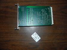 Charmilles / Erowa EDM Tool Changer PC Board, TP 650, 40214a, Used, Warranty