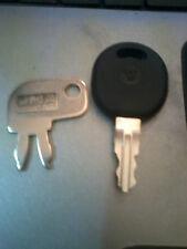 Caterpillar Key Set - 2 Keys - Plant Hire Keys - SP8500 / 5P8500 & CAT 2P