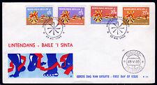 NL-Antillen 190-93 FDC, Soziale Fürsorge