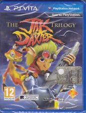PSVita PlayStation Vita **THE JAK AND DAXTER TRILOGY** nuovo sigillato italiano