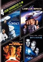 WARNER HOME VIDEO D190559D 4 FILM FAVORITES-SCI-FI (DVD/CONTACT/LOST IN/SPHER...