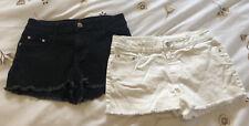 2 X Size 10 Girls Denim Shorts