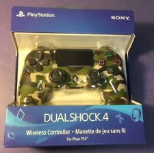 Official Sony Dualshock 4 Wireless Controller [ Green Camouflage Edition ] NEW