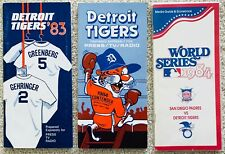1984 DETROIT TIGERS MLB BASEBALL OFFICIAL MEDIA GUIDE ROSTER BOOK RARE